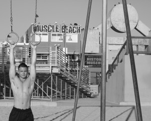 "PHOTO BY BLAKE BEERS  Junior Blake Beers' ""Muscle Beach"" is one of the twelve photographs to be exhibited in the Drexel Photography High School Contest."