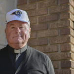 THE REV. FR. STEPHEN BARBER, S.J., became the chaplain of the Los Angeles Rams this year. Barber guides the spirituality of the Rams' players and staff.