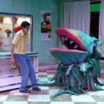 Reprinted with permission from Hannon Theatre Company: Loyola alumnus Rubén Carbajal '11 stars as Seymour in the Hannon Theatre Company production of Little Shop of Horrors in the spring of 2010.